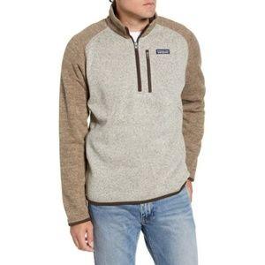 Men's Patagonia Better Sweater 1/4-Zip Fleece